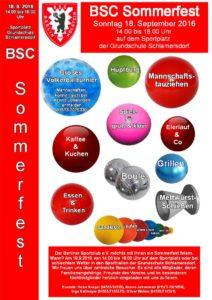 BSC Sommerfest 2016